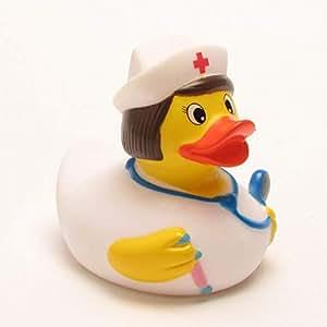 Canard de bain en caoutchouc - Infirmière