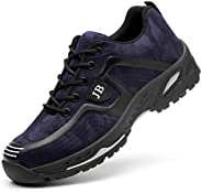 ESDY Steel Toe Shoes Men Safety Work Shoes Industrial Construction Sneakers Lightweight Comfortable Composite