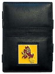 NCAA Arizona State Sun Devils Leather Jacob's Ladder Wallet
