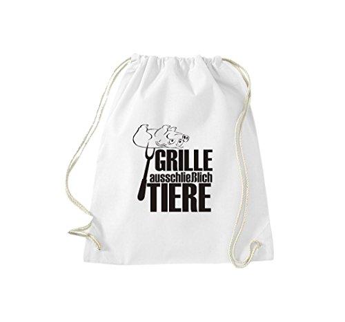 Barbecue Da Cricket Di Ginnastica Grigliate Cult Gymsack Bianco