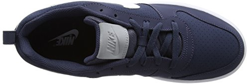 Nike Court Borough Low, Chaussures de Gymnastique Homme Bleu (Thunder Blue/white-wolf Grey)