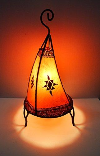 lampe-de-table-au-henne-marocain-forme-en-banane-orange-38cm