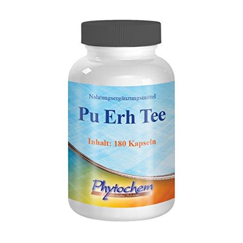 Phytochem Pu Erh Tee Kapseln - Premium Qualität, 1er Pack (1 x 92 g) (92 Tee)