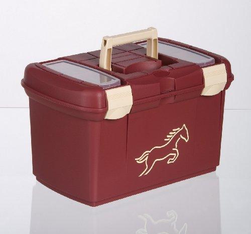 Burgund Korn (United Sportproducts Germany USG 16000001-532 Putzbox , burgund/ creme Beschlge)