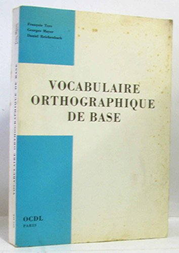 Vocabulaire orthographique de base