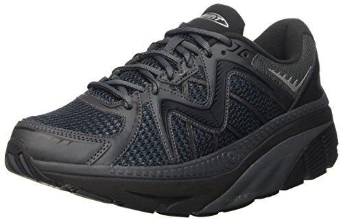 MBT Men's Zee 16 Running Shoe, Black, varies