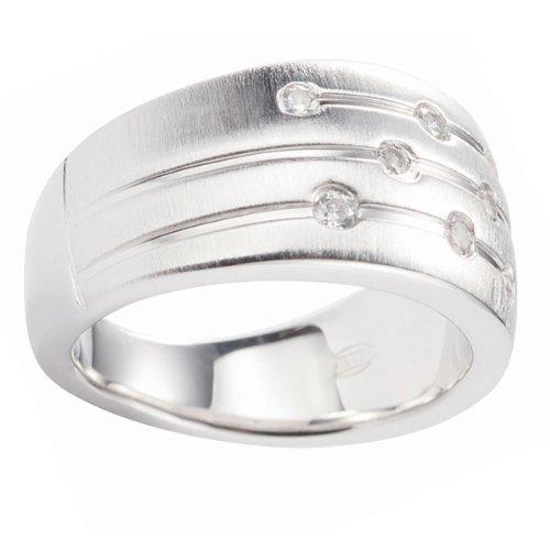 Fossil Damen-Ring 925 Sterling Silber Gr. 17  JF15789040