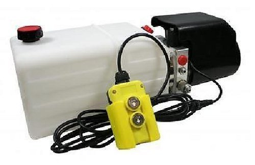 Flowfit 12VDC Single Acting Hydraulic Power pack with 8L Tank ZZ003834 Test