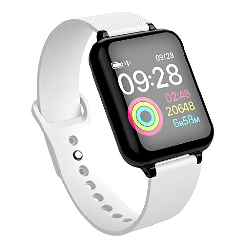 Haludock Smart Watch Health Checkup IP67 Waterproof Color Monitor Heart Rate Monitor Monitor Bracelet Armband Armband mit Capacitive Touch Screen Unlock Remote Camera für iOS Android