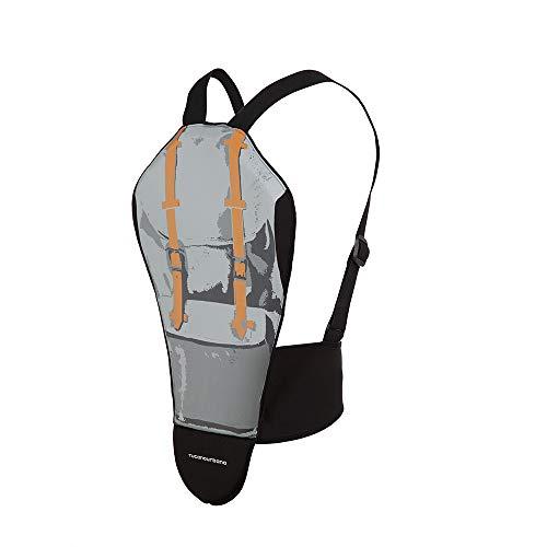 8009G2 TUCANO URBANO Rückenprotektor para Back Grau Large