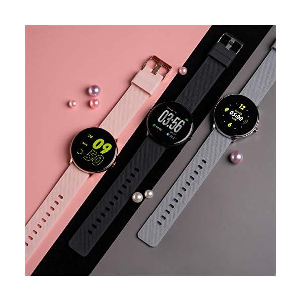 Bebinca Smartwatch Reloj Inteligente con Cronómetro, Pulsera Actividad para Deporte,Reloj de Fitness con Podómetro… 3