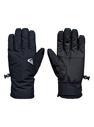 Quiksilver Herren Cross-Snowboard/Ski Gloves, Anthracite, M (Quiksilver Skate)