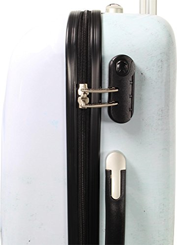 ABS Hartschalen Koffer mit Teleskopgriff und Zahlenschloss Big Ben