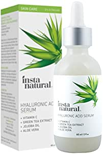 InstaNatural Vtamin C Hyaluronic Anti Ageing Serum with Vitamin C, 2Oz