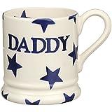 Blue Star Daddy Half Pint Boxed Mug
