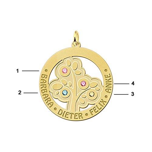 forever-anker-collana-con-pendente-rotondo-albero-della-vita-per-nome-con-4-cristalli-swarovski-come