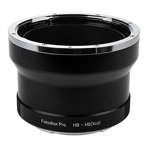Fotodiox Pro Lens Mount Adapter, Hasselblad V-Mount SLR Lens to Hasselblad XCD Mount Mirrorless Digital Camera Systems (such as X1D-50c and more) Hasselblad Mount