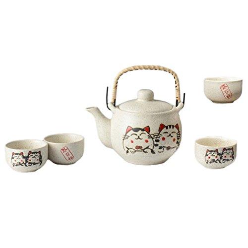 Juego de té de porcelana de estilo japonés Servicio de té Restaurante Decor-A04 especial