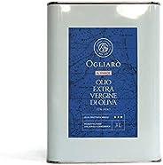 "Olio extravergine di oliva - 3 litri - Ogliarò ""Il Vivace"" evo italiano monocultivar Ogliarola Garga"