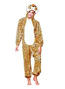 Boland 88423adultos Disfraz Tiger Peluche, One size