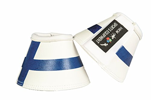 HKM Hufglocken -Flags-, Flag Finland, Pony
