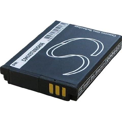 Batteria per TOSHIBA CAMILEO S30 HD, 3.7V, 1050mAh, Li-ion