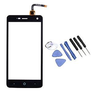 VABNEER® Digitizer Bildschirm Vorderer Glas Ersatz Display Touchscreen Replacement mit Werkzeuge zur Reparatur für ZTE Blade L3 schwarz