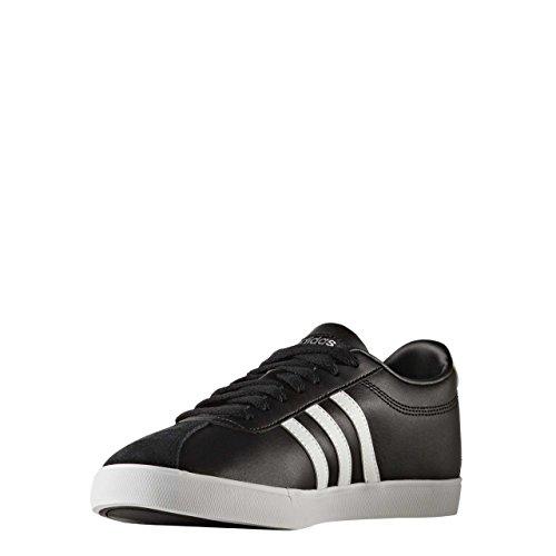 adidas  Courtset W, chaussure de sport femme Core Black/Ftwr White/Matte Silver