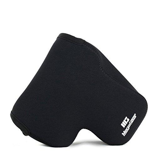 MegaGear Ultraleichte Kameratasche aus Neopren-Marterial für OLYMPUS EM1 mit 12-40mm (Black)