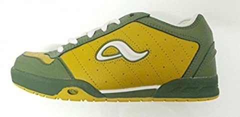 Adio Skate Shoes Kenny Anderson Yellow/Green/White, shoe size:39.5