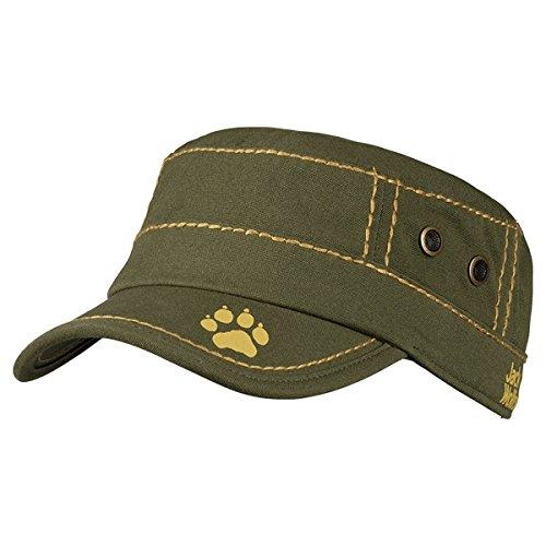 Jack wolfskin kids donati cap casquette pour enfant Gris - Vert olive