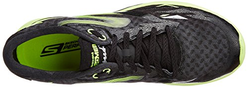 Skechers Go Meb Speed 3, Chaussures de course homme Black / Green