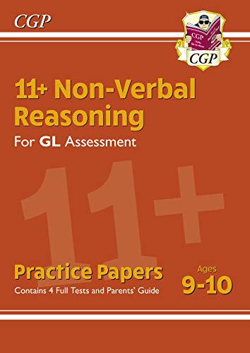 New 11+ GL Non-Verbal Reasoning Practice Papers - Ages 9-10 (with Parents' Guide) (English Edition)