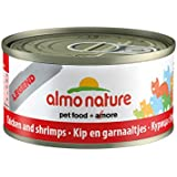 Almo Nature Cat Food Legend Chicken and Shrimps 70g, Pack of 24