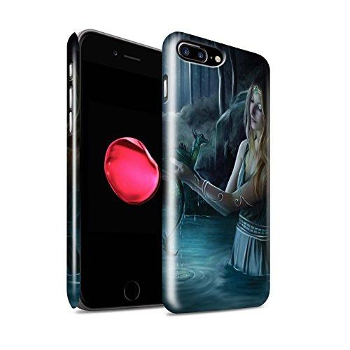 Officiel Elena Dudina Coque / Clipser Brillant Etui pour Apple iPhone 8 Plus / Eau/Bébé Design / Dragon Reptile Collection Eau/Bébé