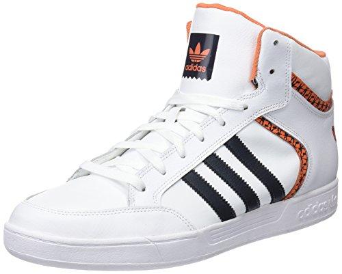 Adidas varial mid, scarpe da skateboard uomo, bianco (ftwwht/carbon/traora ftwwht/carbon/traora), 42 2/3 eu