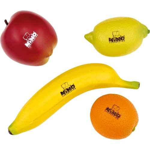 Nino Percussion NINOSET100 Obst Percussion Sortiment vierteilig