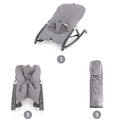 Chicco New Pocket Relax - Hamaca, hasta 9kg, color gris