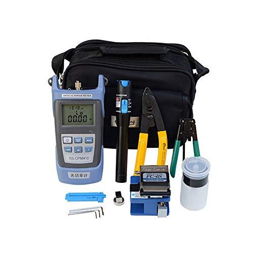 Changli Fiber Optic FTTH Werkzeug Kit mit FC-6S Cleaver Optischer Power Meter Visueller Finder Fiber Power Meter