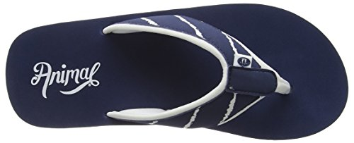 Animal Damen Swish Upper Aop Sandalen, One Size Weiß
