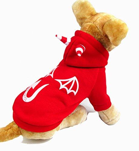 PoodleHouse Haustierkostüm Dämonen für Halloween, Overall-Stil