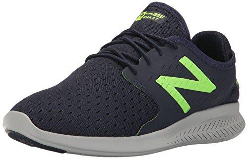 New Balance , Herren Laufschuhe Pigment/Energy Lime