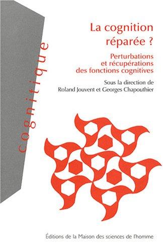 Cognition réparée ? : Perturbations et récupérations des fonctions cognitives