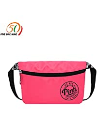 Buyworld Weekend Travel Waist Pack Bag Beach Bag Pink Waterproof Vs Spring Break Fit Bag Card Holder Fanny Pack...