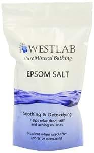Westlab Epsom Salt Resealable Stand Up Pouch 1Kg