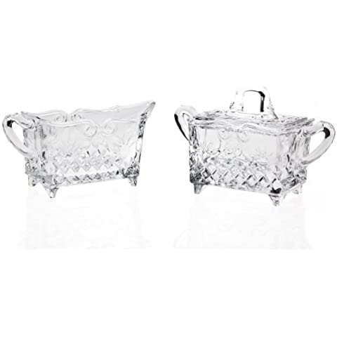 Godinger Barouque Sugar/Creamer Crystal . by