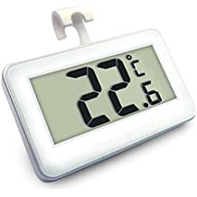 zhjz termómetro digital para Refrigerador impermeable nevera congelador Termómetro