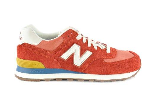 New Balance, ML574BCO, Sneaker, Uomo Rosso