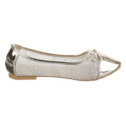 Ital-Design - Ballerine Donna Oro (oro)