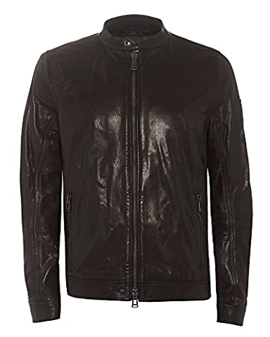 Belstaff - Gransden Leather Blouson, Black, 52